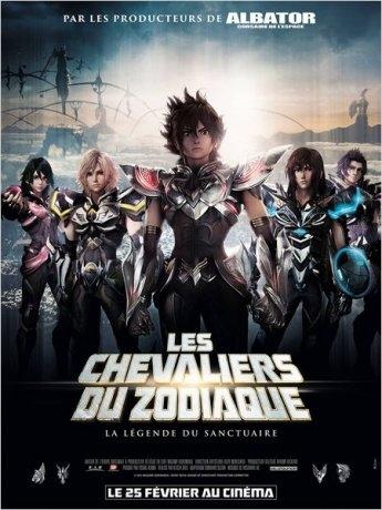 Les Chevaliers du Zodiaque - La Légende du Sanctuaire (2015)