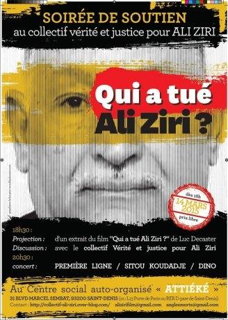 Qui a tué Ali Ziri (2015)