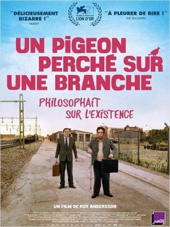 Un pigeon perché sur une branche philosophait sur l'existence (2015)