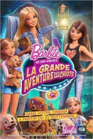 Barbie - La grande aventure des chiots (2015)