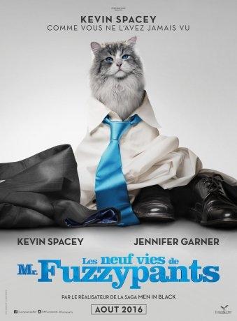 Les neuf vies de Mr. Fuzzypants (2016)