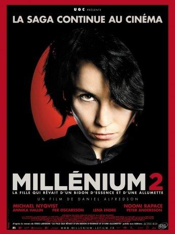 Millénium 2 - La Fille qui rêvait d'un bidon d'essence et d'une allumette (2010)