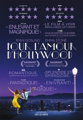 Pour l'amour d'Hollywood (2016)
