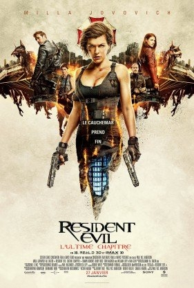 Resident Evil : L'ultime chapitre (2017)
