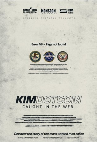 Kim Dotcom Caught In The Web (2017)