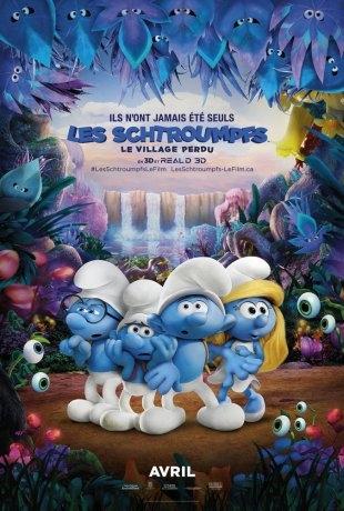Les Schtroumpfs : Le village perdu (2017)