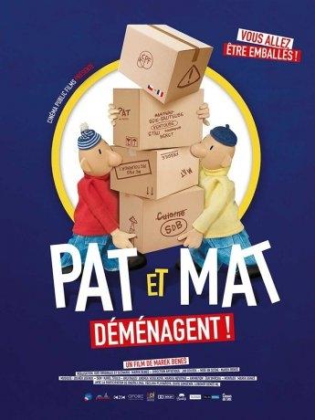 Pat et Mat déménagent ! (2018)