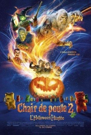 Chair de poule 2 : L'halloween hantée (2018)