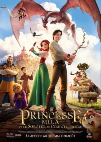 Princesse Mila et le sorcier au coeur de pierre (2019)