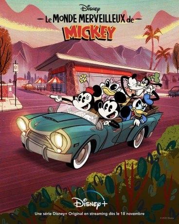 Le Monde merveilleux de Mickey (2020)
